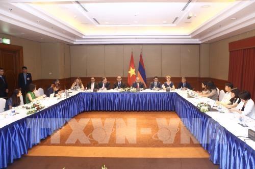 越南与亚美尼亚深化各领域合作 hinh anh 1