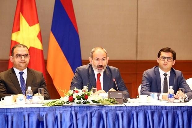 越南与亚美尼亚深化各领域合作 hinh anh 2