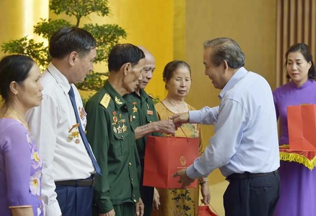 政府副总理张和平:全力以赴提升革命战争时期有功人员生活质量 hinh anh 2