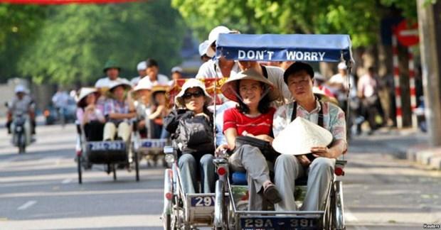 亚洲游客占越南接待游客的比例最高 hinh anh 1