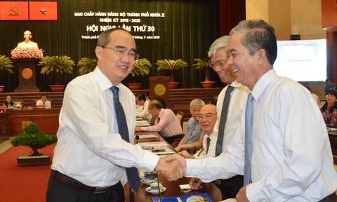 越共胡志明市第十届委员会第三十次全体会议今日开幕 hinh anh 1