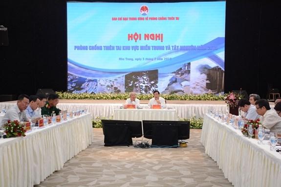 越南中部和西原地区要制定周密的台风应急方案 hinh anh 1