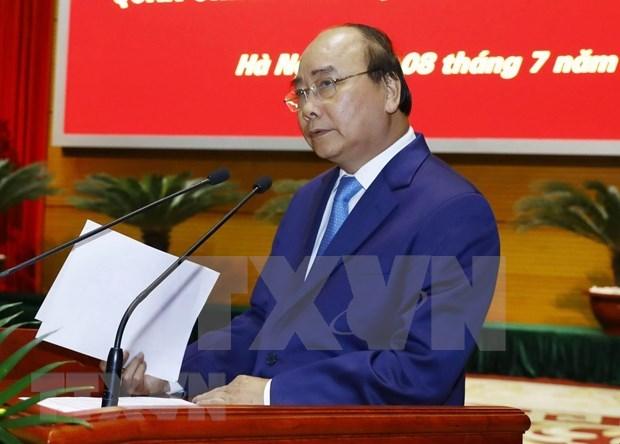越南政府总理阮春福出席2019年全军军政会议 hinh anh 2