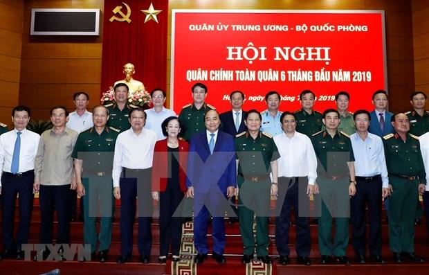 越南政府总理阮春福出席2019年全军军政会议 hinh anh 1