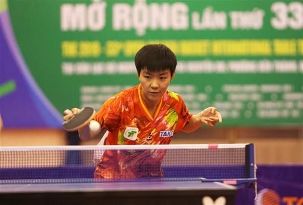 2019年金球拍杯乒乓球公开赛落下帷幕 胡志明市运动员夺得女单冠军 hinh anh 1