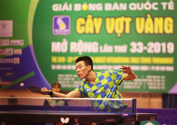 2019年金球拍杯乒乓球公开赛落下帷幕 胡志明市运动员夺得女单冠军 hinh anh 2