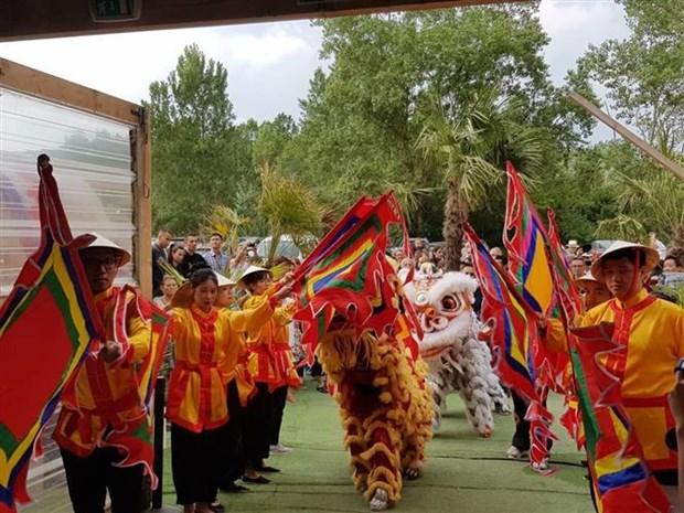 """越南""""文化之窗""""活动在法国里昂举行 hinh anh 1"""