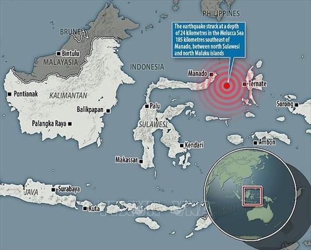 印度尼西亚地震:取消海啸预警 hinh anh 1