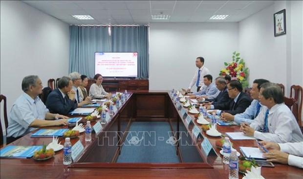 芹苴市加强与中国台湾教育领域的合作 hinh anh 1