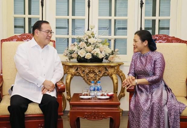 越南与菲律宾推动两国民间友好交流 hinh anh 2