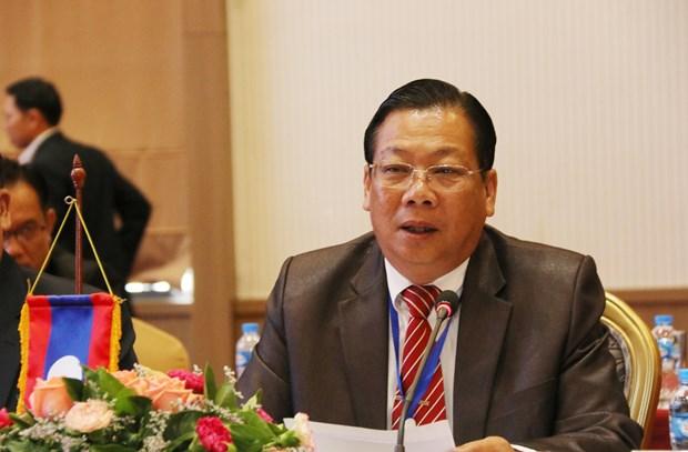 越南与老挝加强犯罪预防打击合作 hinh anh 1