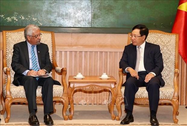 越南政府认清外国援助资金到位情况并积极采取推进措施 hinh anh 1