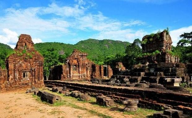越南增强对美山世界文化遗产的修缮工作 hinh anh 1