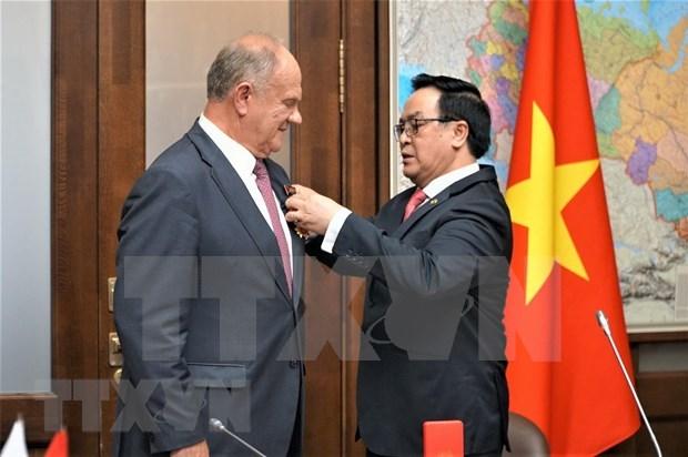 越南共产党代表团对俄罗斯进行工作访问 hinh anh 1