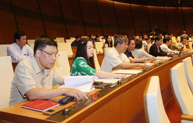 政府总理分工各部门主持草拟14项法案和法令 hinh anh 1