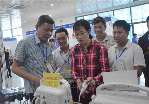 2019年岘港国际医药专题展览会正式开展 hinh anh 2