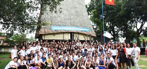 150名海外青年侨胞参加2019年越南夏令营活动 hinh anh 1