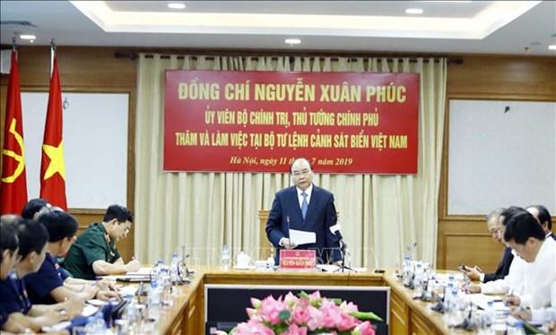 阮春福:越南海警责任重大使命光荣 hinh anh 2