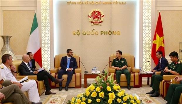 越南与意大利举行第三次防务政策对话 hinh anh 1