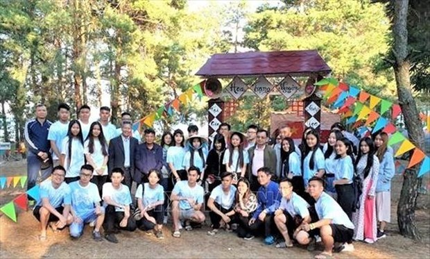 2019年在乌克兰越南大学生夏令营热闹举行 hinh anh 1