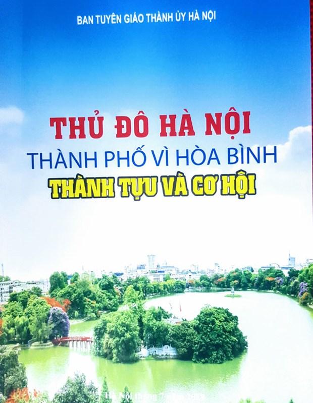 关于国际和平城市河内一书正式问世 hinh anh 1