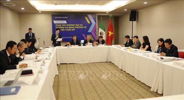 越南积极促进与美洲的贸易活动 hinh anh 1