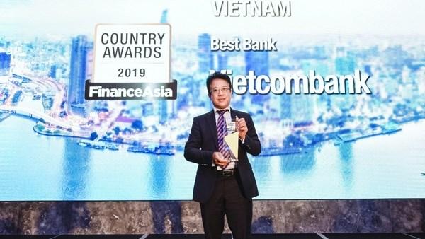 Vietcombank荣获《Finance Asia》2019年越南最佳银行奖 hinh anh 1