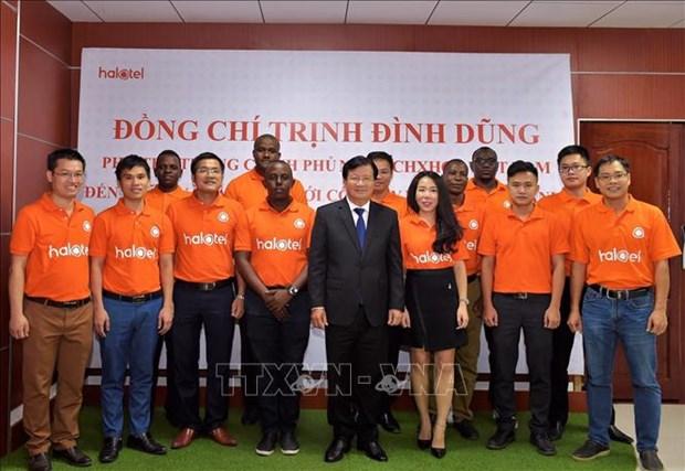 越南政府副总理郑廷勇会见坦桑尼亚总理马贾利瓦 hinh anh 2