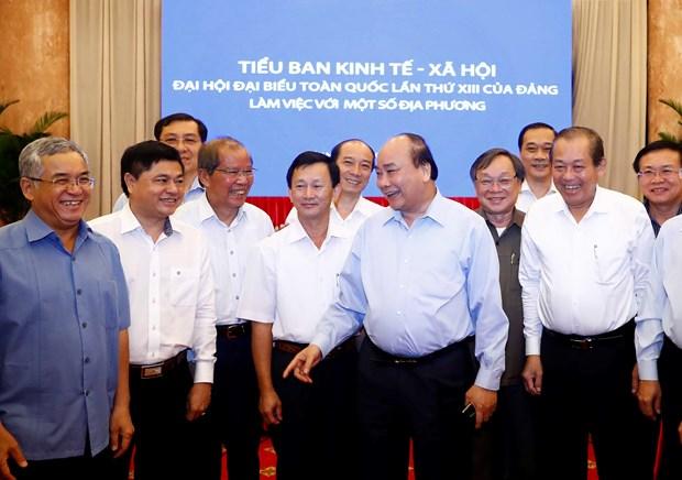 政府总理阮春福:中部和西原地区需以发展促稳定 hinh anh 2
