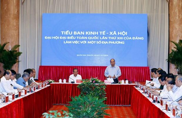 政府总理阮春福:中部和西原地区需以发展促稳定 hinh anh 1