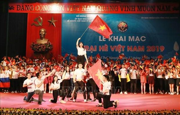 2019年越南夏令营活动开幕 hinh anh 1
