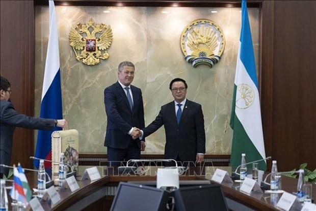俄罗斯巴什科尔托斯坦承诺为越南企业创造便利条件 hinh anh 1