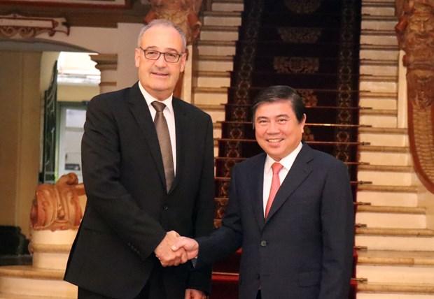 瑞士努力加快越南与欧盟自由贸易联盟自贸协定谈判进程 hinh anh 2