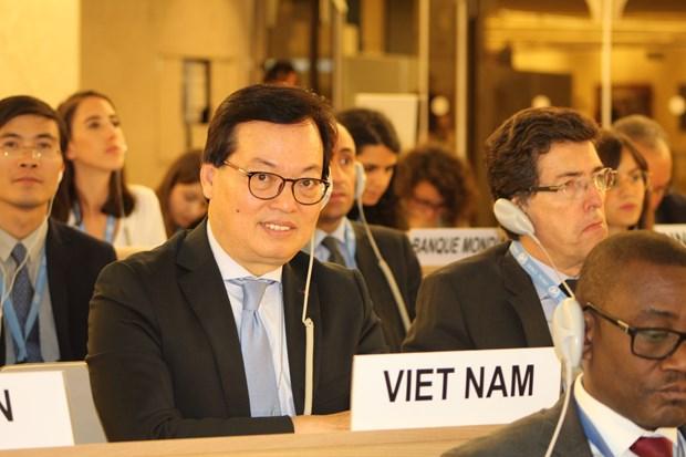 联合国人权理事会通过越南参加第三轮国别人权审议报告 hinh anh 1