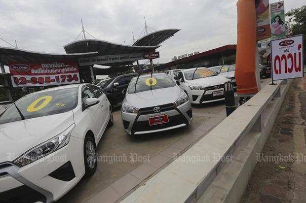 泰国商业部将于今年年底实施二手车进口限令 hinh anh 1