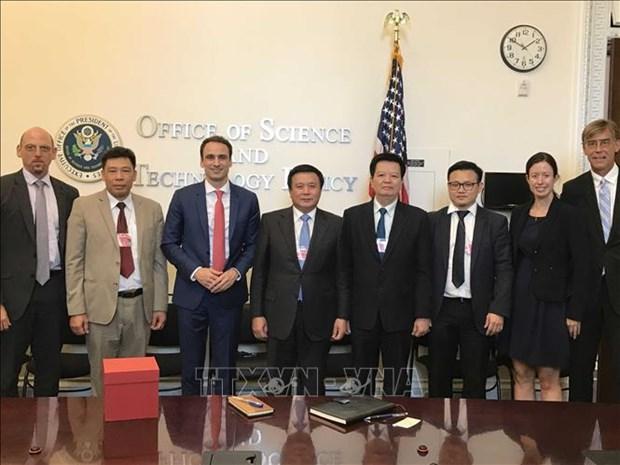 越南与美国加强全面伙伴关系 hinh anh 2