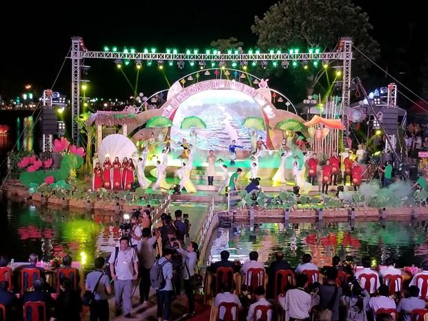同塔省文化旅游周活动参观人数达60万人次 hinh anh 1
