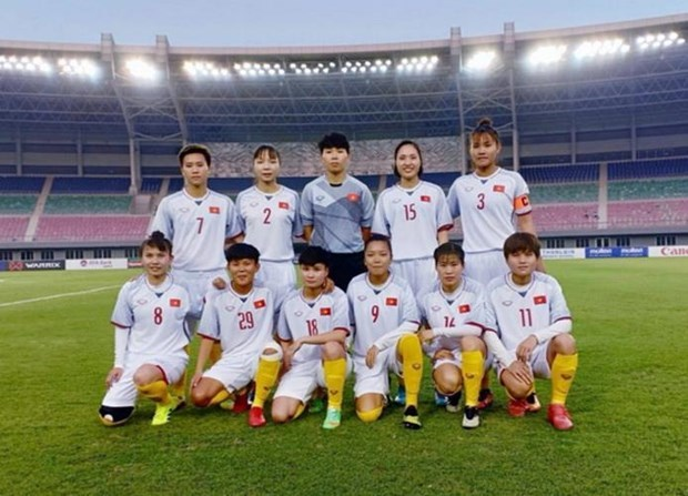 FIFA女足排名:越南女足世界第35 位列东南亚首位 hinh anh 1