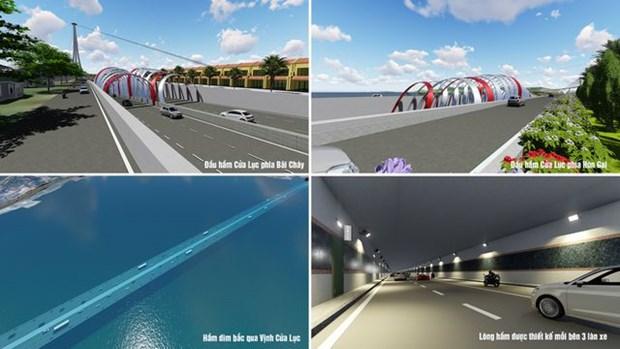 广宁省将兴建海底隧道 hinh anh 1