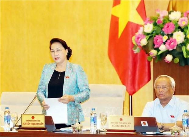 越南国会常委会召开第35次会议 hinh anh 1