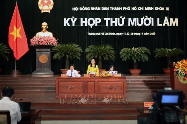 胡志明市第九届人民议会第十五次会议通过22项决议 hinh anh 1