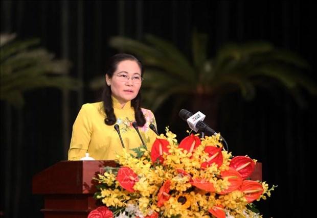 胡志明市第九届人民议会第十五次会议通过22项决议 hinh anh 2