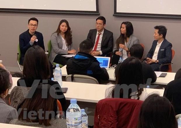 澳大利亚越南留学生积极响应创业倡议比赛 hinh anh 1