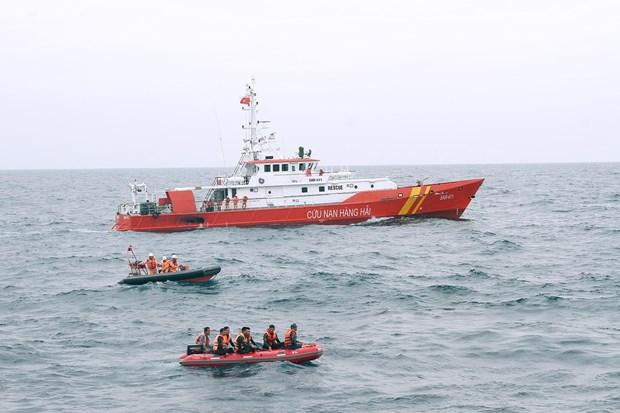 多措并举及时救援海上遇险渔船和渔民 hinh anh 1