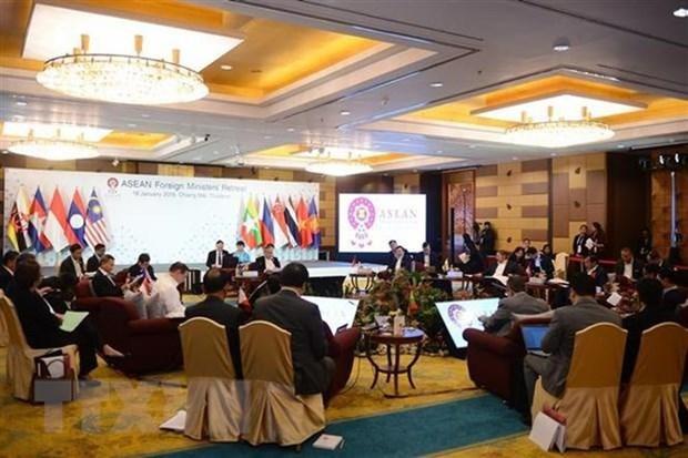 泰国为东盟外长会议作出积极准备 hinh anh 2
