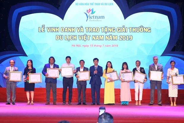 越通社VietnamPlus电子报荣获2019年越南旅游奖 hinh anh 2