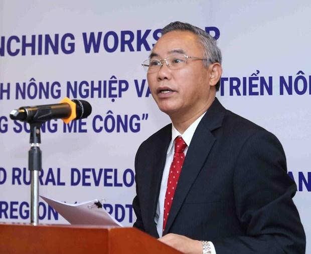 大湄公河次区域农业政策研究咨询网络正式启动 hinh anh 1