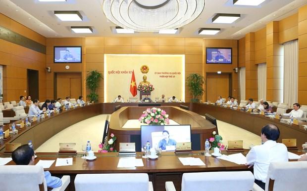 国会常委会第35次会议:国会第八次会议将于10月21日开幕 hinh anh 2