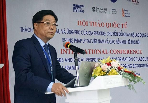 全球化背景下劳动关系国际研讨会在胡志明市举行 hinh anh 1