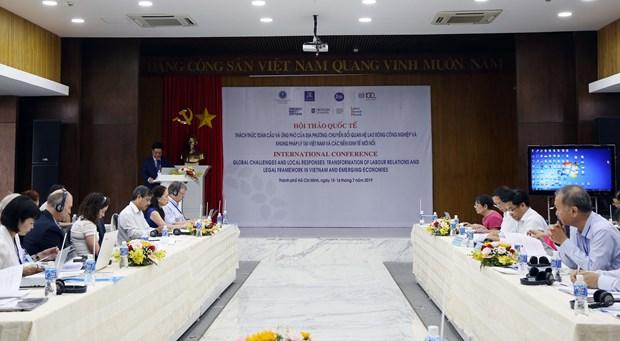 全球化背景下劳动关系国际研讨会在胡志明市举行 hinh anh 2